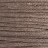 Cotton Wax Cord 1.0mm Round Light Brown